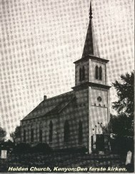Holden Church, - the first church