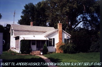 The house ofl Anders Heisholt - Andrew Holden