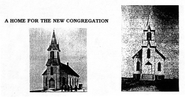 Holden  Church - Beardsley, a home for the new congregation / et hjem for den nye menigheten